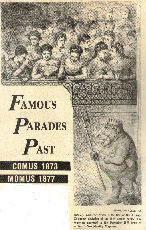 1873 Comus Parade - Missing Links