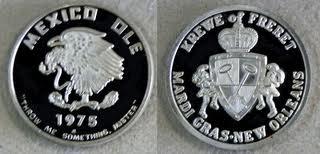 1975 Silver Freret Medals