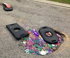 Beads as a Pot Hole Solution