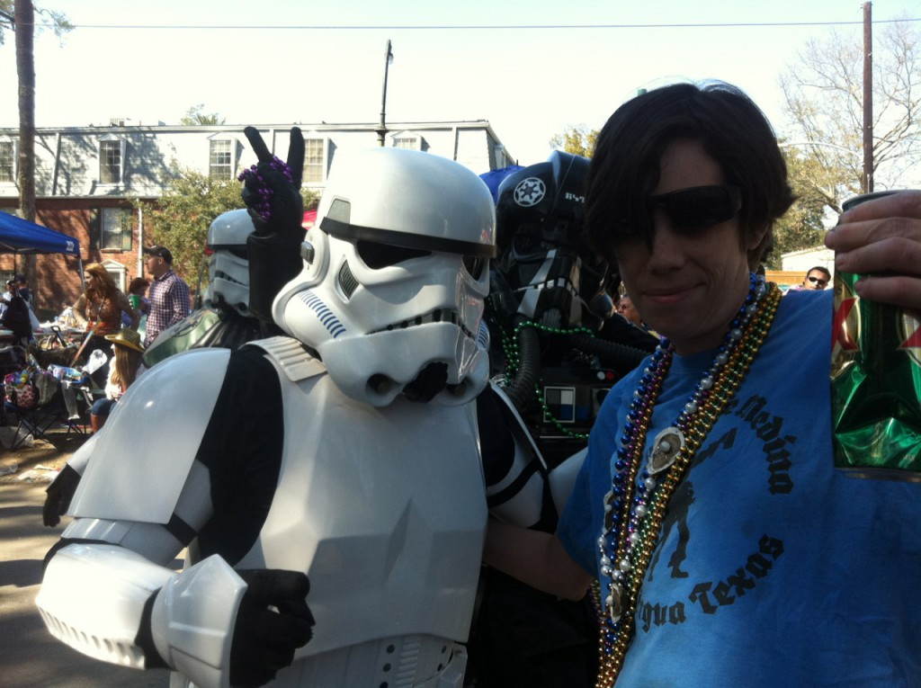 Billy B with Storm Trooper