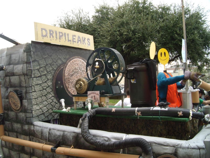 Drips & Discharges 2011 Float
