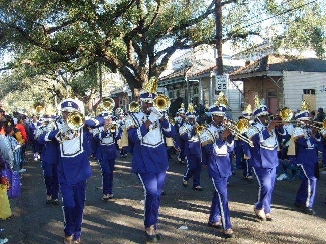 Edna Karr Band at Zulu 2009