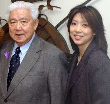 The late Harry Lee & His Daughter, Cynthia Lee-Sheng