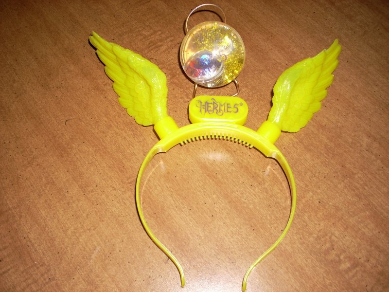 Hermes 2012 Light Up Headband with Light Up Ball