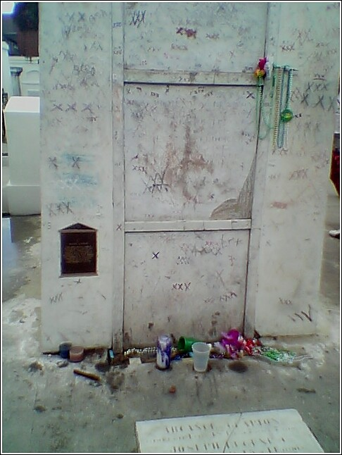 Marie Laveau Mausoleum in St. Louis Cemetery No. 1