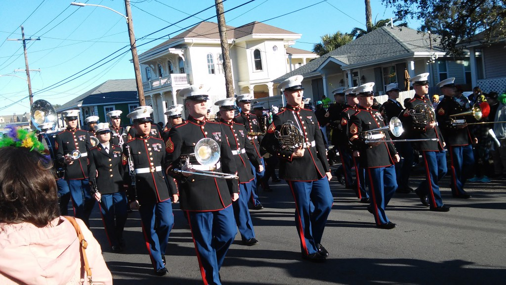 Marine Band during ZULU