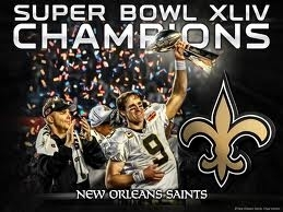 Drew Brees and Shaun Payton and Super Bowl Trophy!!