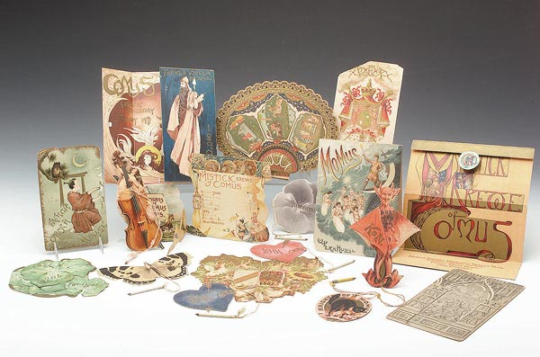 Historic Comus Invitations