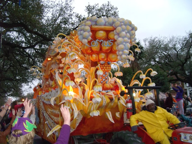 Proteus' Comus Float