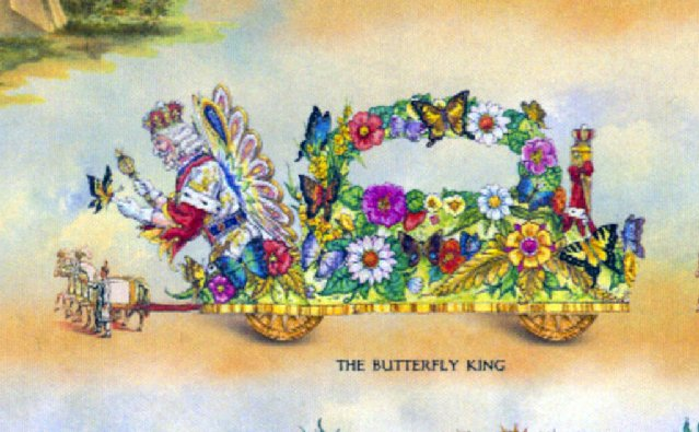 Rex Butterfly King Float, New for 2012