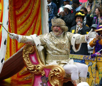 King of Carnival Having Fun!!