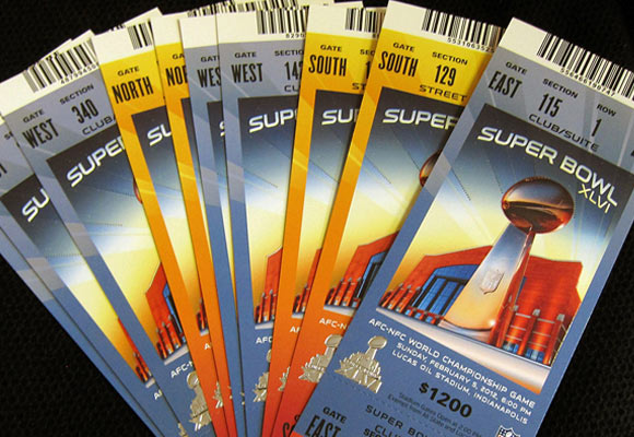 2012 Super Bowl Tickets