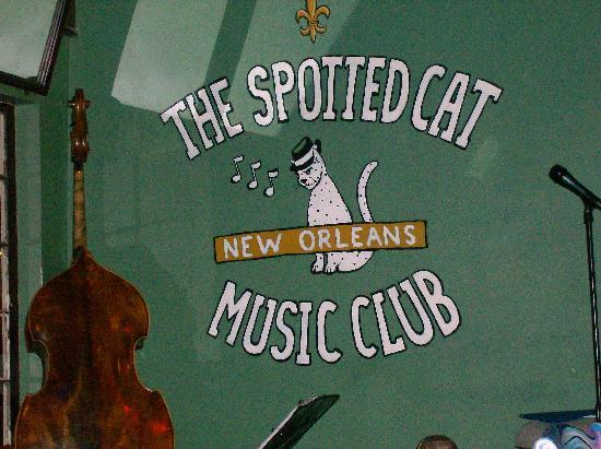 The Spotted Cat on Frenchman Street