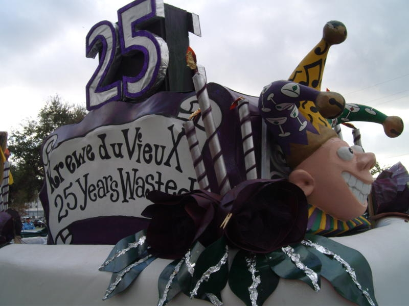 """25 Years Wasted"" 2011 KdV Title Float"