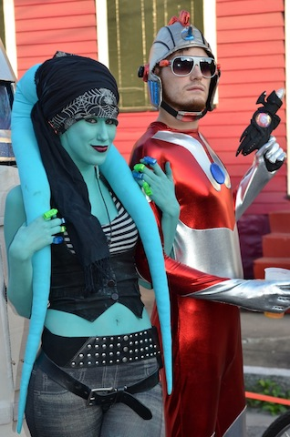Twilek and Ultraman1 of Chewbacchus