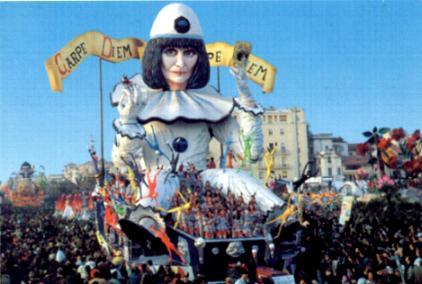 Viareggio, Italy Carnival Float