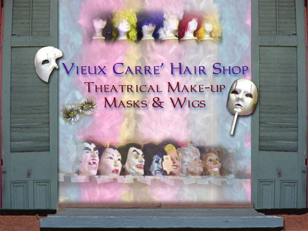 Historic Vieux Carre Hair Shop