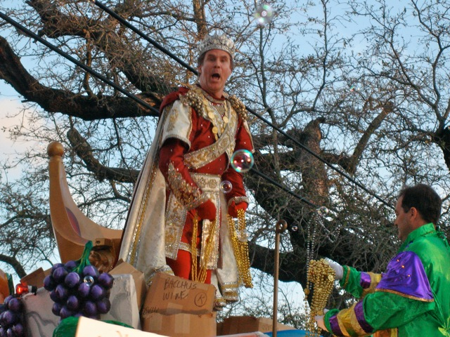 Will Farrell as Bacchus!!